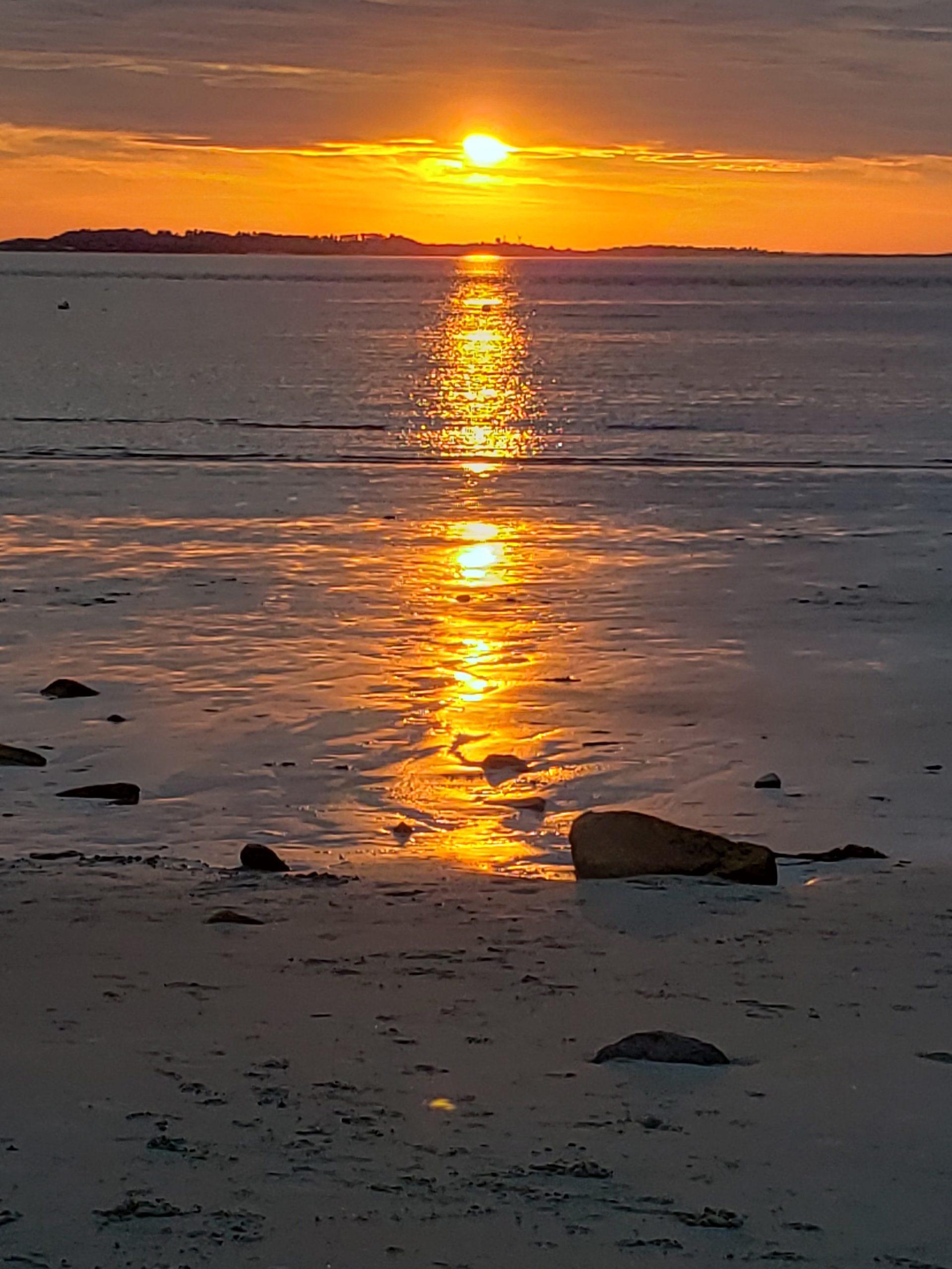 Sunset at Lighthouse Beach
